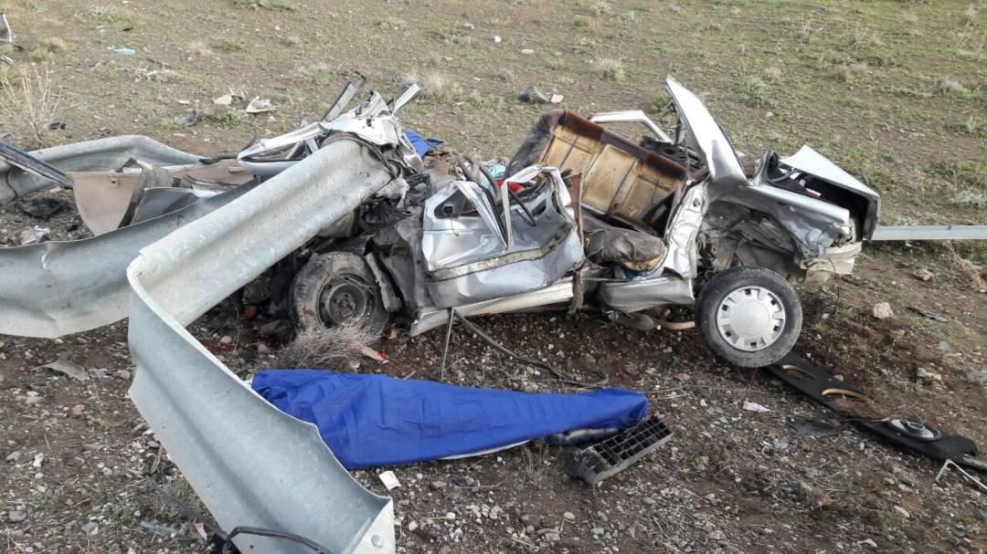 تصادف شدید در آزاد راه ساوه – همدان