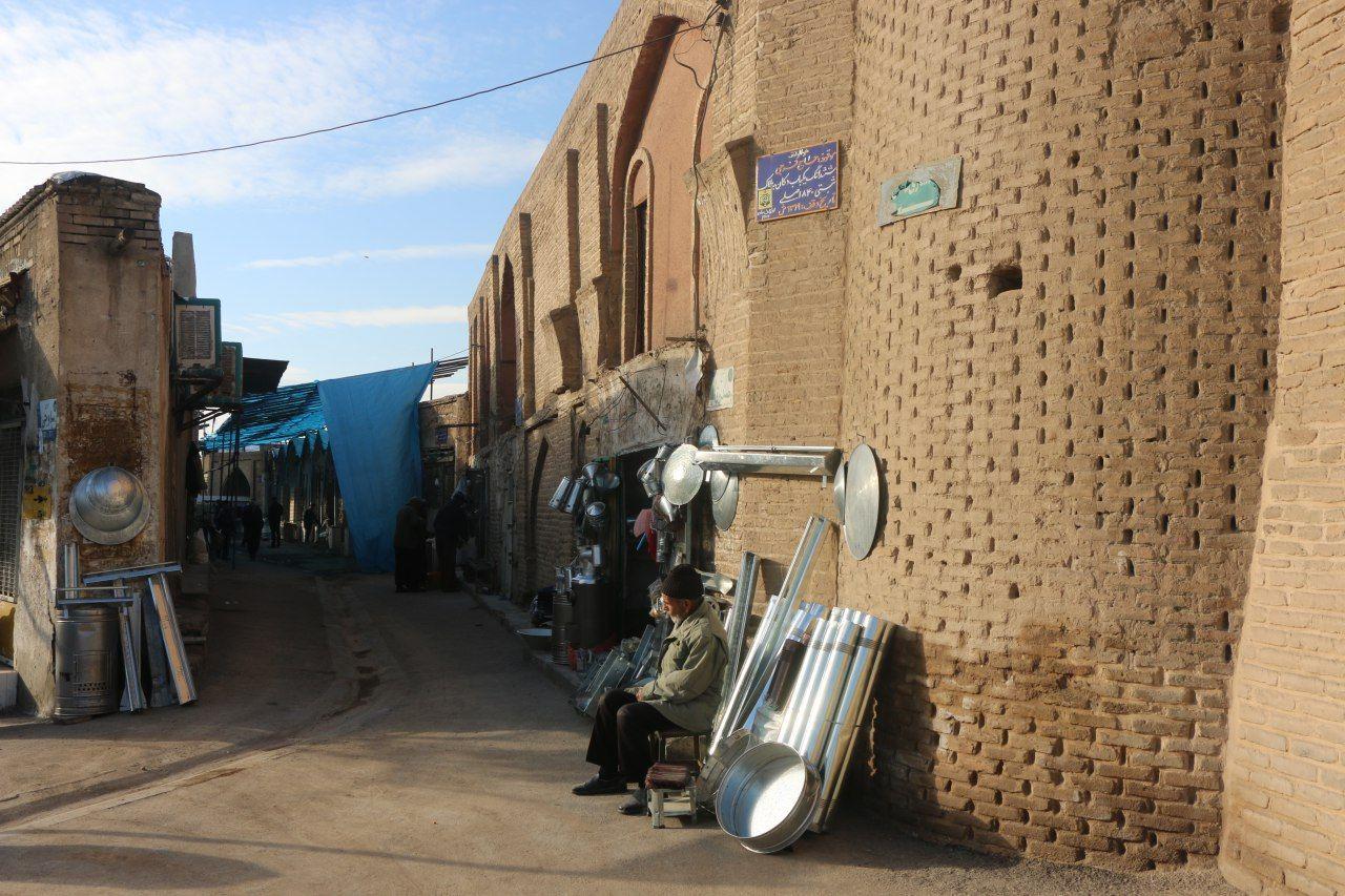 بازار تاریخی چهار سوق ساوه جان دوباره میگیرد