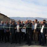 افتتاح زیر سازی و آسفالت روستای صالح آباد بخش مرکزی