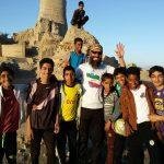 خبر ویژه منوجان | عکس قلعه قدیمی منوجان