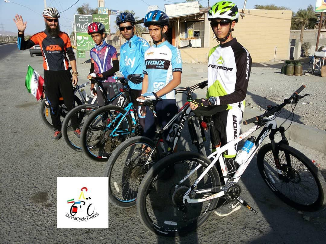 گروه دوچرخه سواری جنوب کرمان فاریاب
