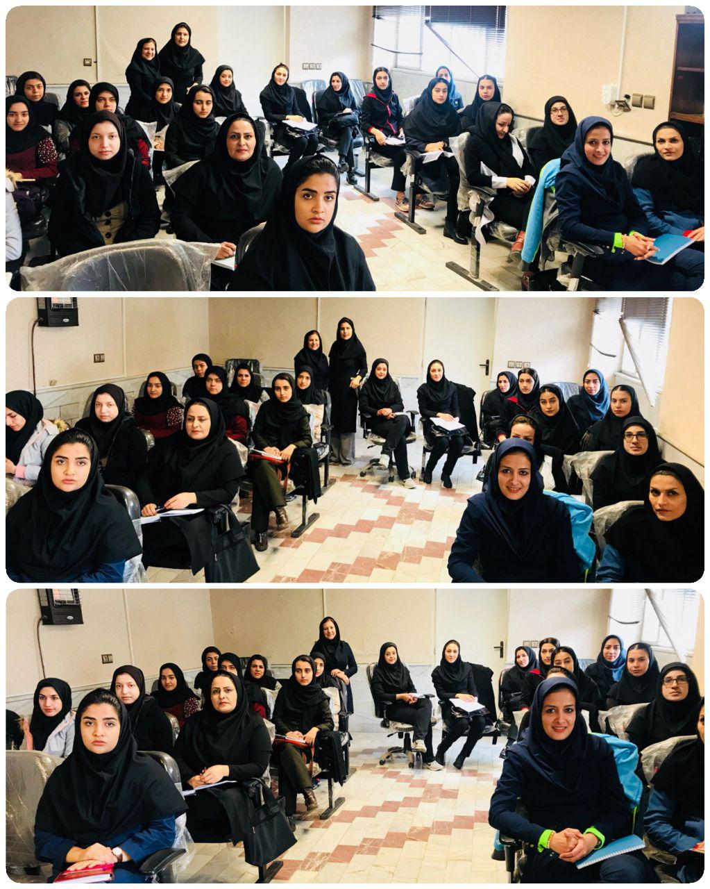 کلاس داوری بدمینتون در ساوه برگزار شد