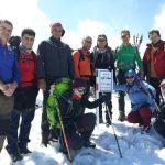 صعود به قله سیاه کوه توسط کوهنوردان ساوجی