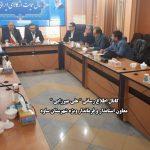 نشست خبری علی میرزایی فرماندار ساوه
