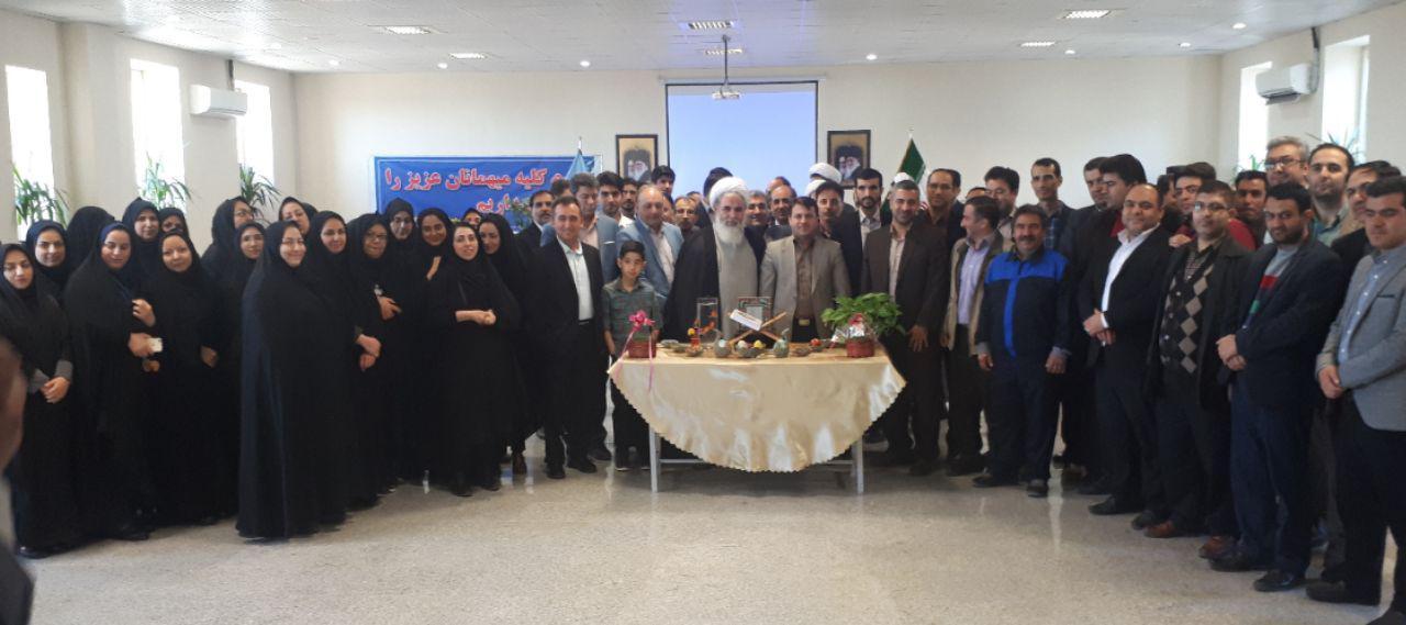 گردهمایی کارکنان دادگستری شهرستان ساوه برگزار شد.