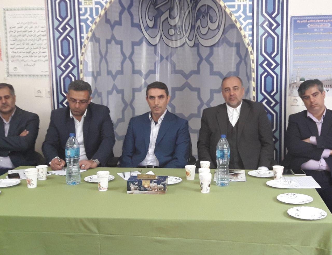 نشست مشترک ستاد مدیریت بحران استان مرکزی و شهرستان ساوه