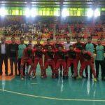 مسابقه دوستانه هندبال بین تیم جوانان ساوه و قزوین