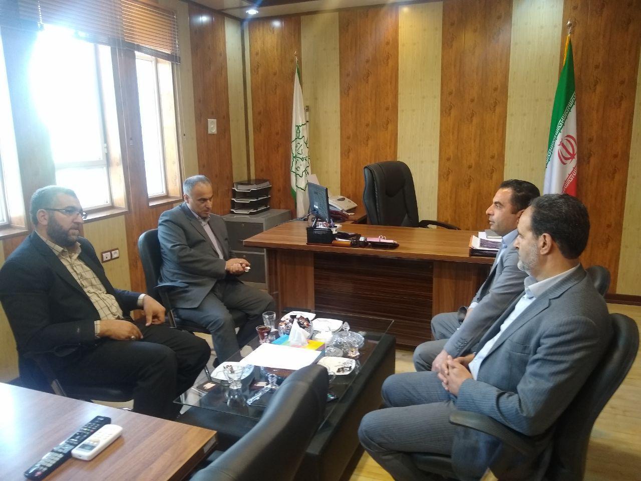 حضور مدیرکل شهری استانداری در غرق آباد