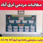 اخبار غرق آباد |چارت سازمانی راهداری غرق آباد چه شد ؟