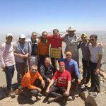 صعود کوه نوردان ساوجی به قله نامی شهباز