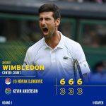 نواک جوکوویچ مرد شماره یک تنیس جهان برتری ۳ بر ۱