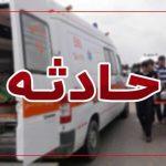 مرگ کودک ۵ ساله در سانحه رانندگی آزادراه ساوه – همدان
