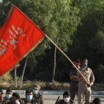 برگزاری صبحگاه مشترک نیروهای نظامی و انتظامی در سپاه ساوه