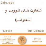 تفاوت های کووید و آنفولانزا |دکتر مونا حجت نیا